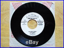 SUPER WOW! UNPLAYED RECORD PREVUE Elvis Presley PROMO Mystery Train 47-6357