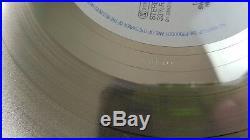 Sade Promise Limited Framed Silver Vinyl Records Rare