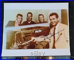 Sam Phillips signed photo Elvis Presley Sun Records in person autograph Rare