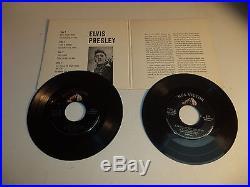 Scarce Rare ELVIS PRESLEY 45rpm DOUBLE EP EPB-1254 Excellent NM Sleeve