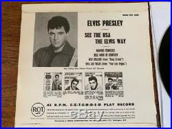 See The USA The Elvis Way-new Zealand Ep- Mint Minus- Elvis Presley Ep 1967