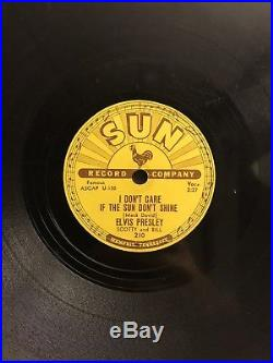 Sun 78 Elvis Presley Good Rockin' Tonight 210 Original Rockabilly Blues HEAR