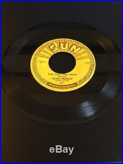 Sun Records #217 G+ 45 Elvis Presley I'm Left, You're Right, She's Gone
