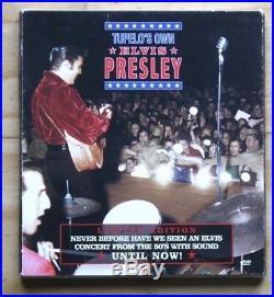 TUPELO'S OWN ELVIS PRESLEY MRS DVD & Book Box Set (Memphis Recording Service)