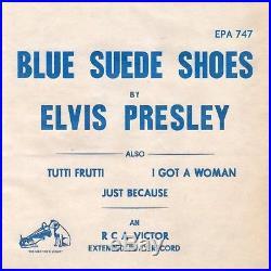 (Temp. Paper envelope) Elvis Presley RCA Victor EPA-747 1956 Rockabilly