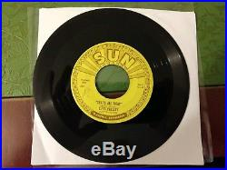 That's All Right / Blue Moon Of Kentucky Elvis Presley Sun Records 45 rpm 1954