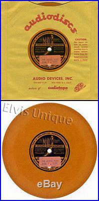 The Elvis Presley Show June 3, 1956 Rarest Elvis Record Ever Orange Promo Single
