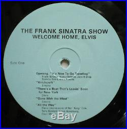 The FRANK SINATRA Show Welcome Home ELVIS PRESLEY A Pair Of Kings no TMOQ LP