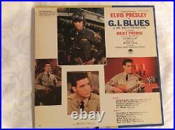 The King! Elvis Presley in G. I Blues original soundtrack LP vinyl record album