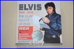 The Pure Sound of ELVIS PRESLEY Essential Undubbed Masters 1969-1976 8 CD Box