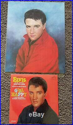 ULTIMATE STILL SEALED Elvis Presley GIRL HAPPY LPM-3338 with flat bonus print