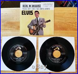 ULTRA-RARE Elvis Presley PLEASE DON'T DRAG THAT STRING ALONG 47-8188