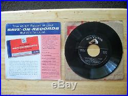 ULTRA-RARE Elvis Presley SAVE-ON-RECORDS Bulletin From June 1956 SPA-7-27