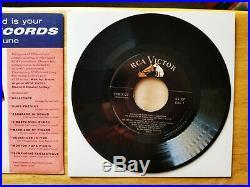 ULTRA-RARE MINT 1956 Elvis Presley SAVE-ON-RECORDS BULLETIN FOR JUNE SPA-7-27