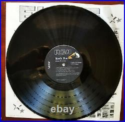 UN SEALED BLACK VINYL Elvis Presley MOODY BLUE AFL1-2428 with 1 HYPE STR