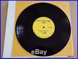 VERY RARE 1969 Elvis Presley Charro Radio Spots 10 LP Near Mint