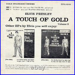 VG+ (GSS) Elvis Presley A Touch of Gold, Volume 3 RCA Victor EPA-5141 1960