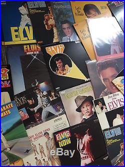 Vintage Collection (59) Elvis Presley Vinyl LP Records Amazing Condition/Value