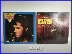 Vintage Elvis Presley Lot of 12 Vinyl Records Greatest Hits No Reserve