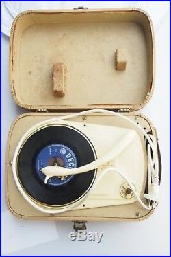 Vintage Perpetuum Ebner Gramophone Record Vinyl Player Elvis Presley WORKING