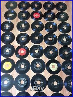 Vinyl 45 Records Elvis Presley Huge Lot 60 Total 15 With Original Sleeves