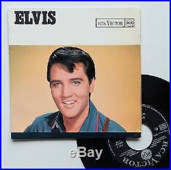 Vinyle 45T Elvis Presley Blue river ULTRA RARE COVER