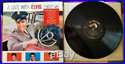 WOW! 99% MINT 1s / 1s Elvis Presley A DATE WITH ELVIS LPM-2011
