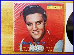 WOW! MINT! Elvis Presley 1958 Japan I NEED YOU SO VERY RARE ES-1336 IN POLY