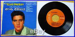 WOW! MINT ORANGE LABEL Elvis Presley King Creole Volume 2 EPA-4321