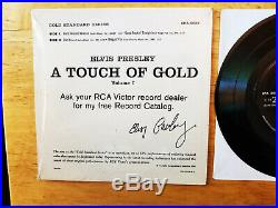 WOW! NEAR MINT Elvis Presley A TOUCH OF GOLD IN SHRINK EPA-5088 RARE LABEL