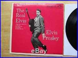WOW! NEAR MINT ORANGE LABEL Elvis Presley GSS The Real Elvis EPA-5120