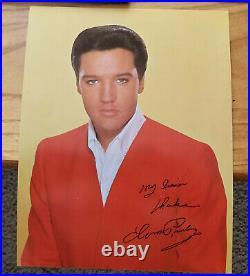 WOW! ORIGINAL 99% MINT Elvis Presley DOUBLE TROUBLE SHRINK, PHOTO LPM-3787