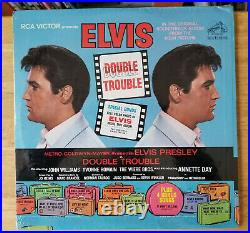 WOW! ORIGINAL SEALED STEREO Elvis Presley DOUBLE TROUBLE HYPE, PHOTO LSP-3787