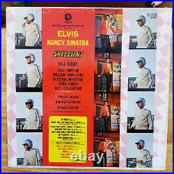 WOW! ORIGINAL SEALED STEREO Elvis Presley SPEEDWAY HYPE, PHOTO LSP-3989 1968