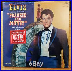 WOW! PERFECT MINT! STILL SEALED Elvis Presley FRANKIE AND JOHNNY LPM-3553