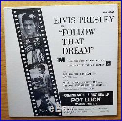 WOW! STILL SEALED 1962 Elvis Presley FOLLOW THAT DREAM EPA-4362