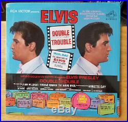 WOW! STILL SEALED Elvis Presley DOUBLE TROUBLE LSP-3787 bonus photo inside