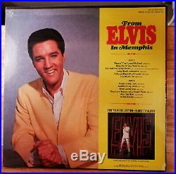 WOW! STILL SEALED Elvis Presley FROM ELVIS IN MEMPHIS with PHOTO LSP-4155