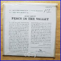 WOW! STILL SEALED IN BAGGY MINT Elvis Presley PEACE IN THE VALLEY EPA-4054