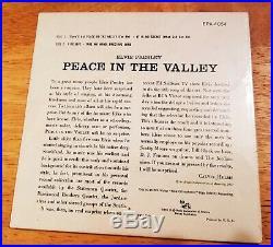 WOW! STILL SEALED MINT Elvis Presley PEACE IN THE VALLEY EPA-4054