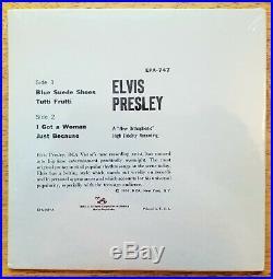 WOW! STILL SEALED MINT ORANGE LABEL Elvis Presley ELVIS PRESLEY EPA-747