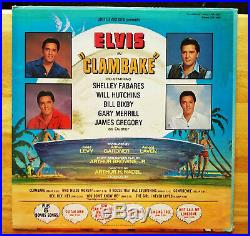 WOW! STILL SEALED ORIG. Elvis Presley CLAMBAKE with PHOTO LSP-3893