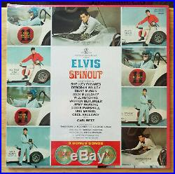 WOW! STILL SEALED ORIG. Elvis Presley SPINOUT with PHOTO LPM-3702