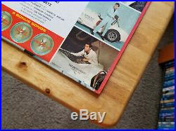 WOW! STILL SEALED ORIG. PROMO Elvis Presley SPINOUT with PHOTO LPM-3702