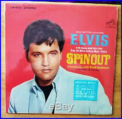 WOW! STILL SEALED ORIG. STEREO Elvis Presley SPINOUT with PHOTO LSP-3702