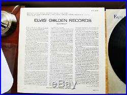WOW! SUPER RARE MONO Elvis Presley Elvis' GOLDEN RECORDS LPM-1707
