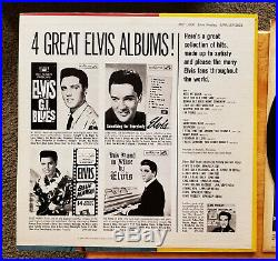 WOW! UNPLAYED MINT 1s / 1s LIVING STEREO Elvis Presley POT LUCK LSP-2523