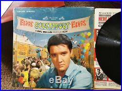 WOW! UNPLAYED MINT 1s / 1s SILVER STEREO Elvis Presley ROUSTABOUT LSP-2999