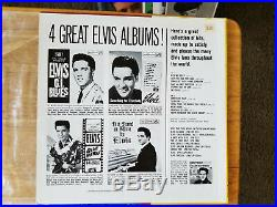 WOW! UNPLAYED MINT / 99% MINT COVER Elvis Presley POT LUCK LPM-2523 IN BAGGY