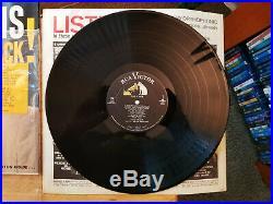 WOW! UNPLAYED MINT Elvis Presley ELVIS IS BACK LPM-2231 IN ORIGINAL BAGGY